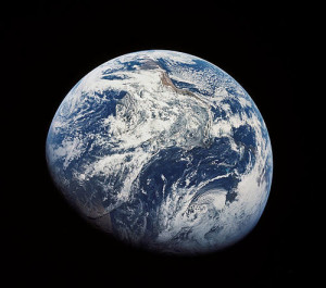 Earth from space (NASA Photo)