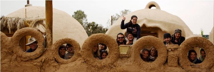 Participants in the Kibbutz Lotan Green Apprenticeship