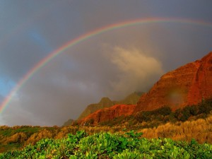 Rainbows in Kauai, Elisheva Danan