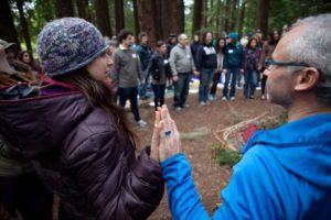 Tu Bishvat in the Redwoods with Wilderness Torah