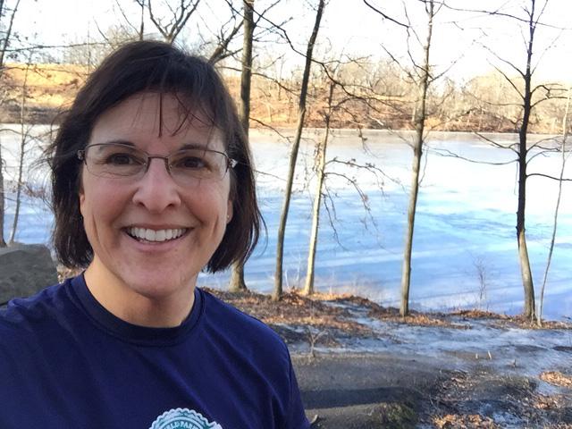 Julie at Rockefeller State Park Preserve