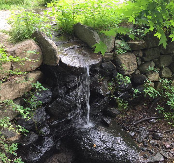Water wears down stone