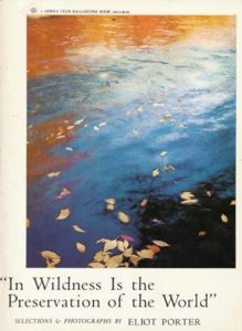 "Cover of ""In Wildness Is the Preservation of the World"""
