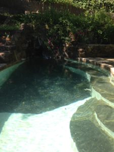 Natural mikveh at Jackson Wellsprings, Oregon,