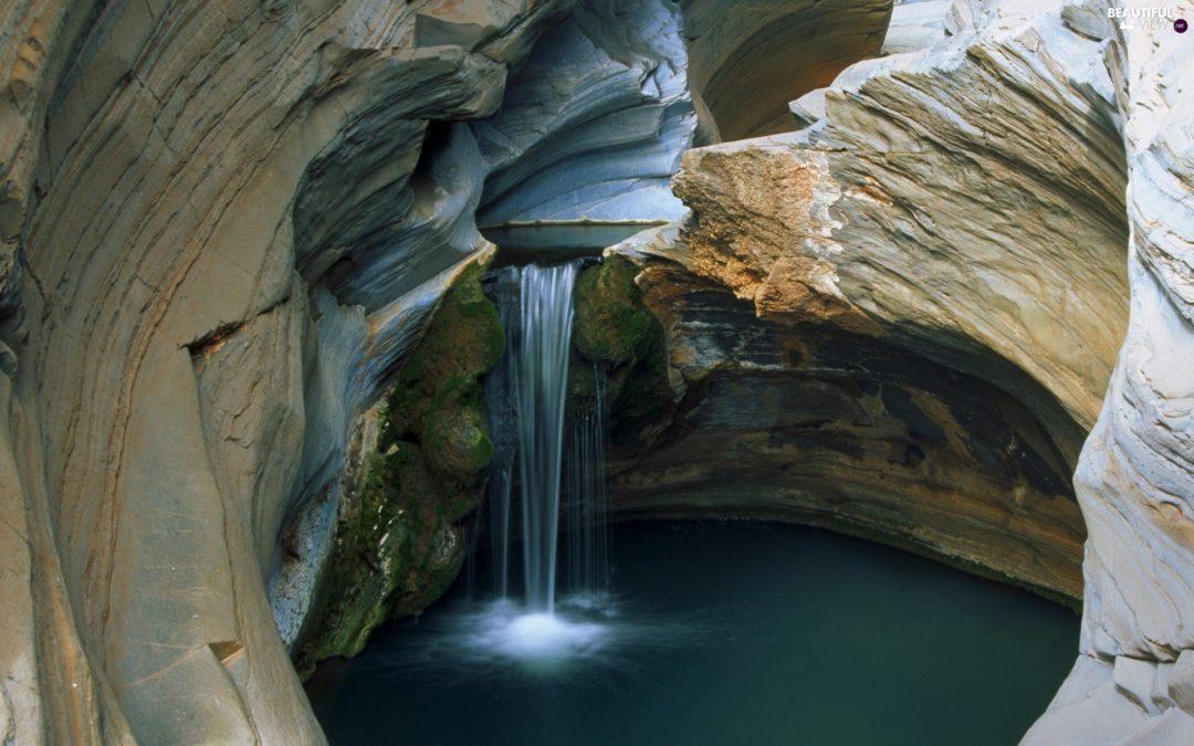 Sound Track: Creek in an Australian Underground Cave
