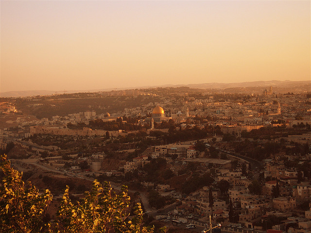 Light in Jerusalem