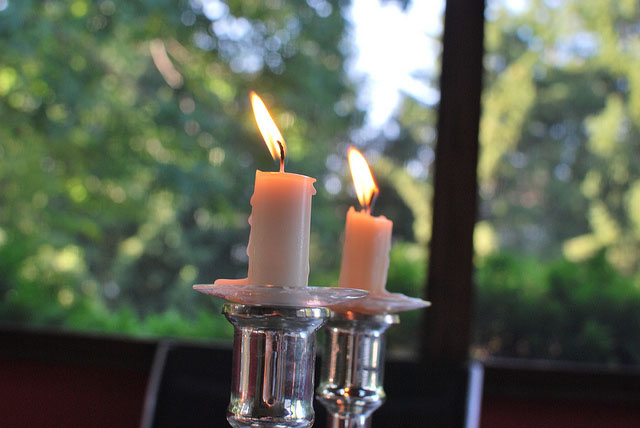 Sacred Ritual: Lighting Shabbat Candles