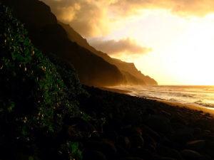 Hawaiian beach, Elisheva Danan