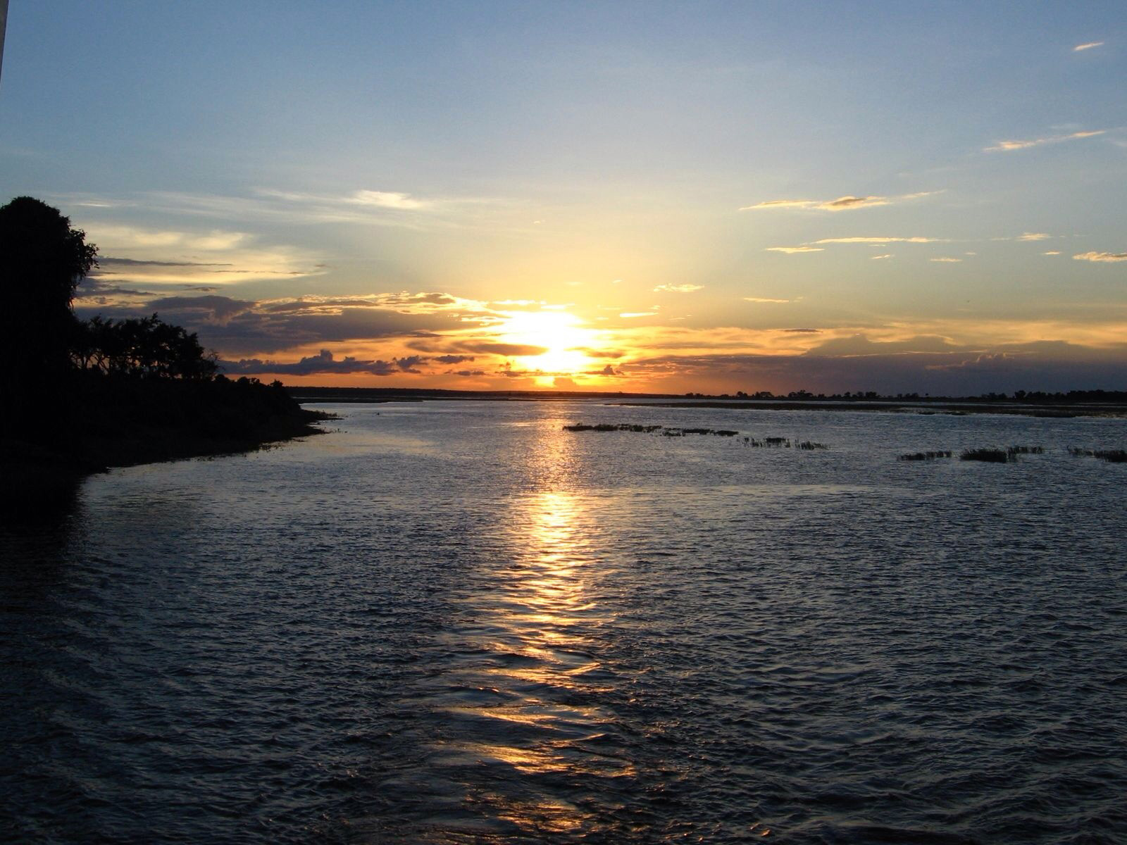 Sunset in Zambia, Elisheva Danan