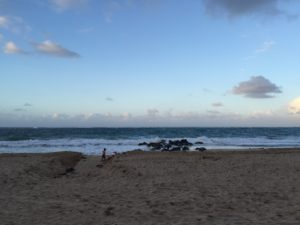 seashore in Puerto Rico