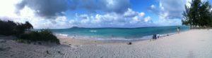 Oahu beach at Kailua, JHD