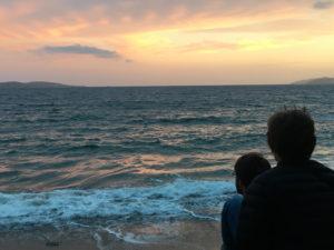 Tasmanian beach at sunset, Marcy Gray