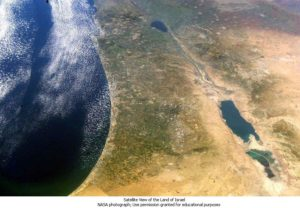 NASA_Sea of Galilee to Dead Sea