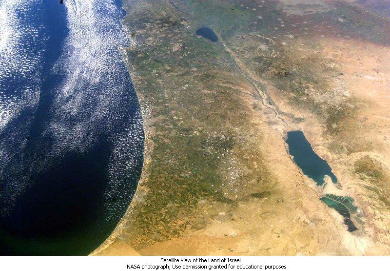 NASA_Sea of Galilee to Dead Sea