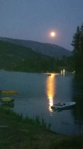 Bass Lake Full Moon, Cantor Mitzi Schwarz