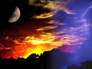 Sun and Moon Tim M via Flickr
