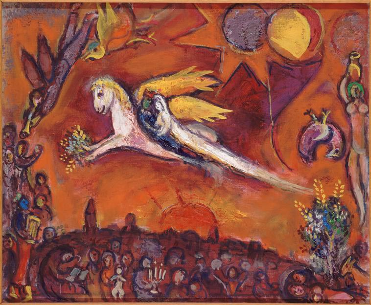 Songs of Songs IV, Marc Chagall