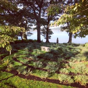 Labyrinth on Long Island Sound