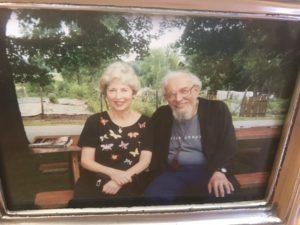 Betty Hilton and Reb Zalman a Elat Chayyim, JHD